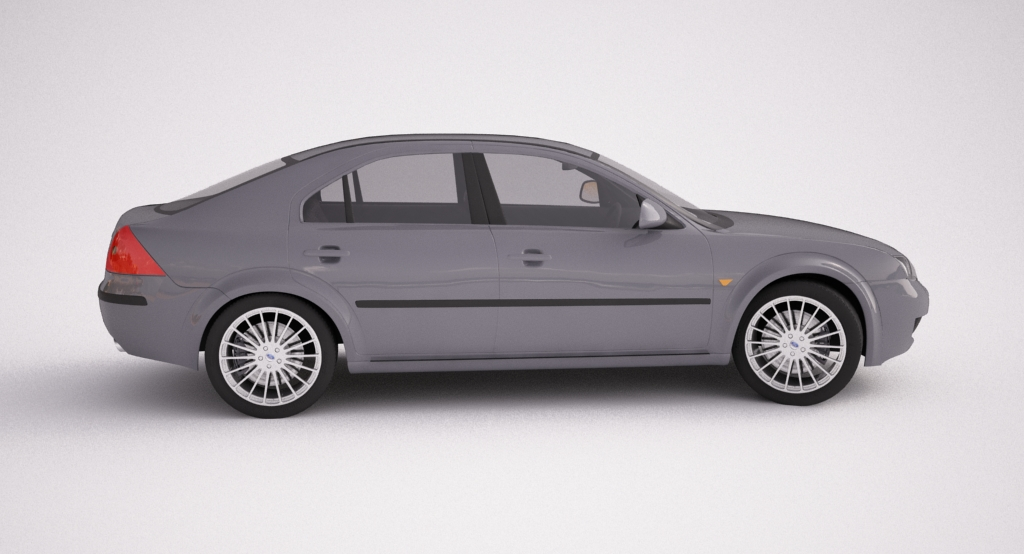 ford mondeo 2006 3d model max texture obj other 120113