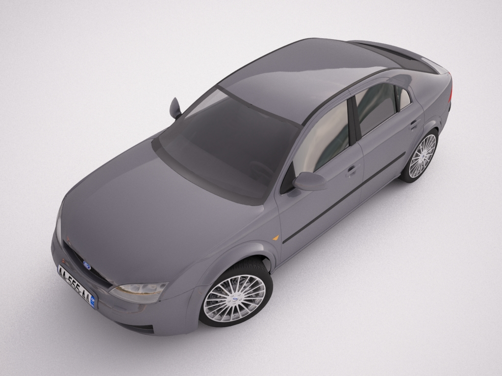 ford mondeo 2006 3d model max texture obj other 120114