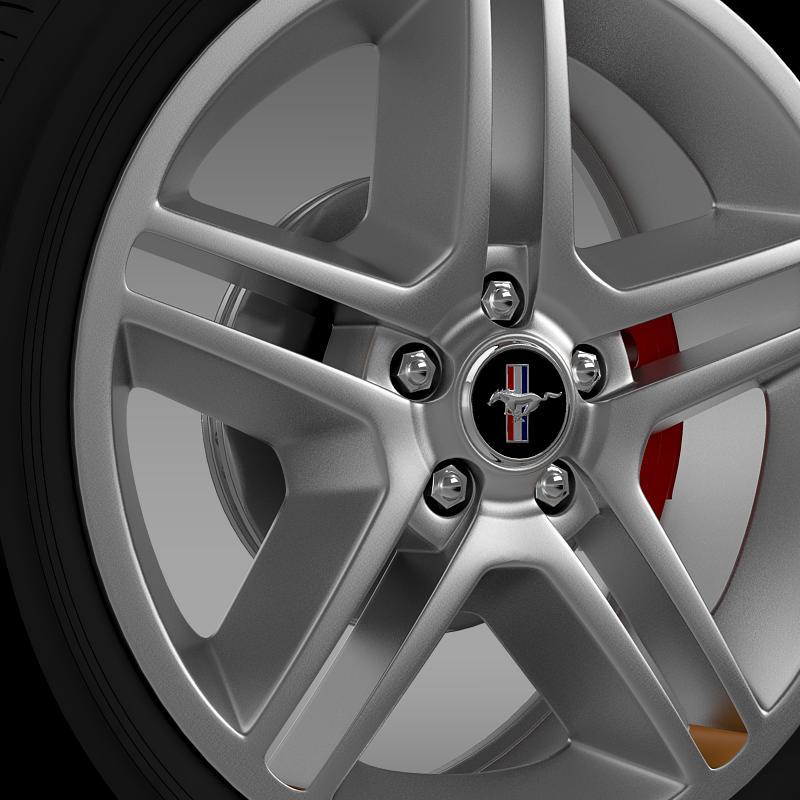 ford mustang 2010 av x 10 wheel 3d model 3ds max fbx c4d lwo ma mb hrc xsi obj 138240
