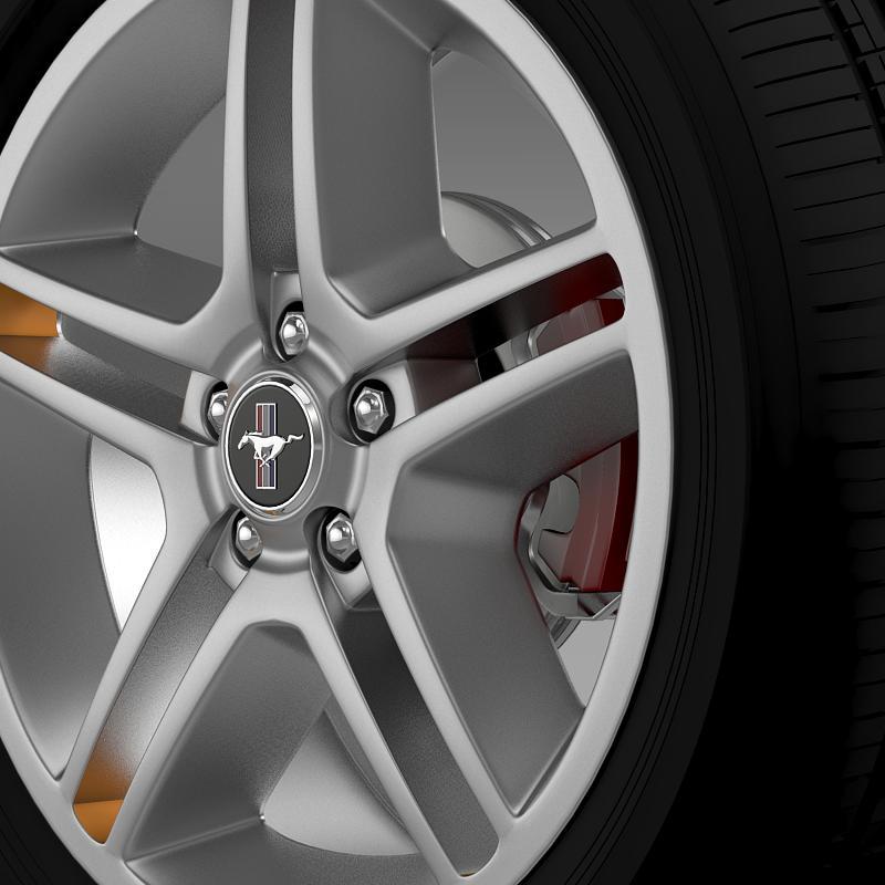 ford mustang 2010 av x 10 wheel 3d model 3ds max fbx c4d lwo ma mb hrc xsi obj 138241