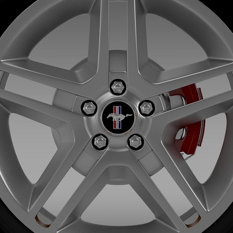 ford mustang 2010 av x 10 wheel 3d model 3ds max fbx c4d lwo ma mb hrc xsi obj 138242