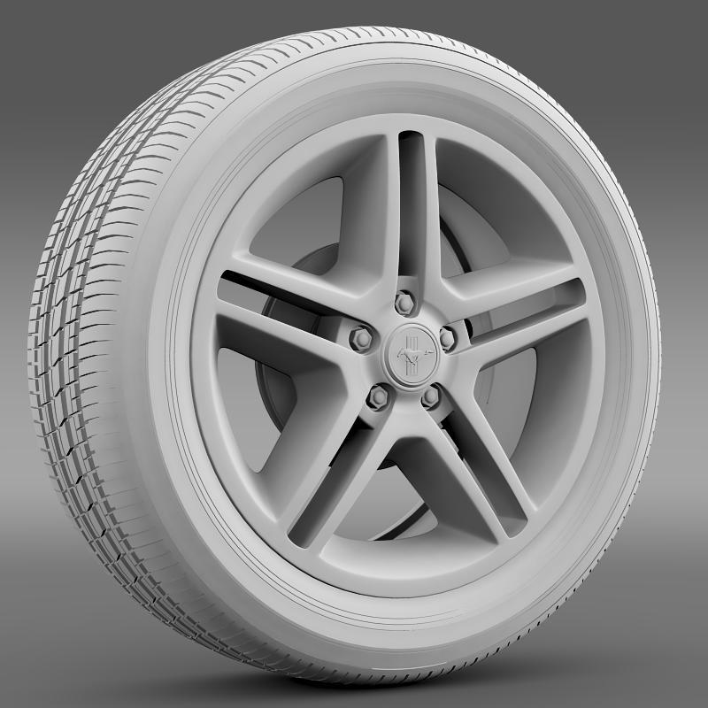 ford mustang 2010 av x 10 wheel 3d model 3ds max fbx c4d lwo ma mb hrc xsi obj 138243