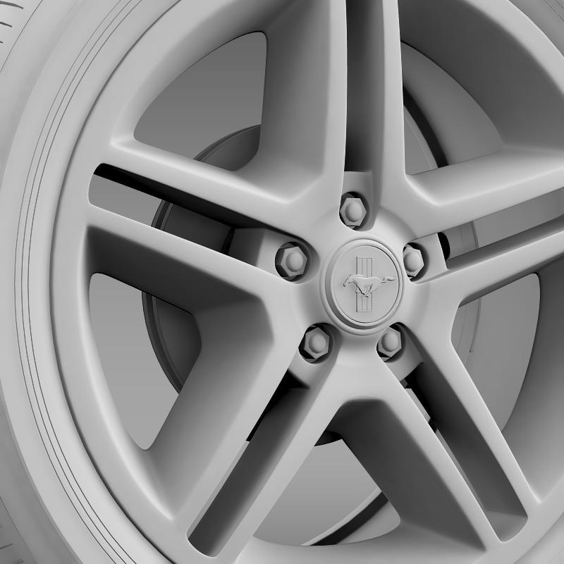 ford mustang 2010 av x 10 wheel 3d model 3ds max fbx c4d lwo ma mb hrc xsi obj 138246