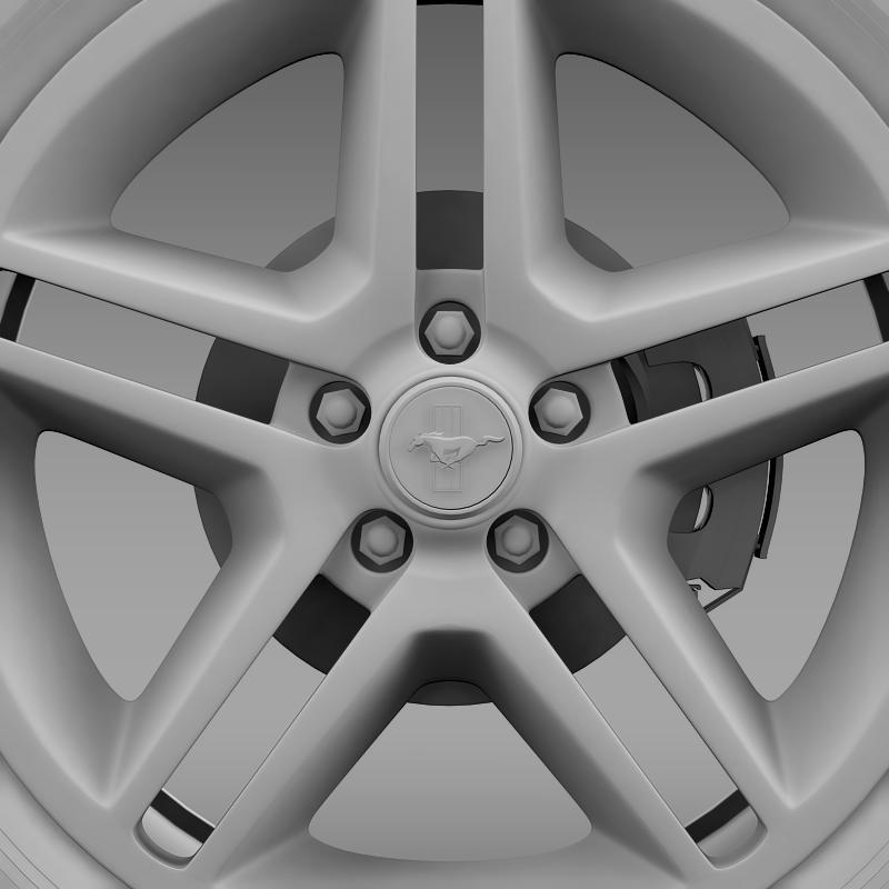 ford mustang 2010 av x 10 wheel 3d model 3ds max fbx c4d lwo ma mb hrc xsi obj 138248