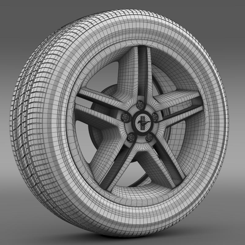 ford mustang 2010 av x 10 wheel 3d model 3ds max fbx c4d lwo ma mb hrc xsi obj 138249