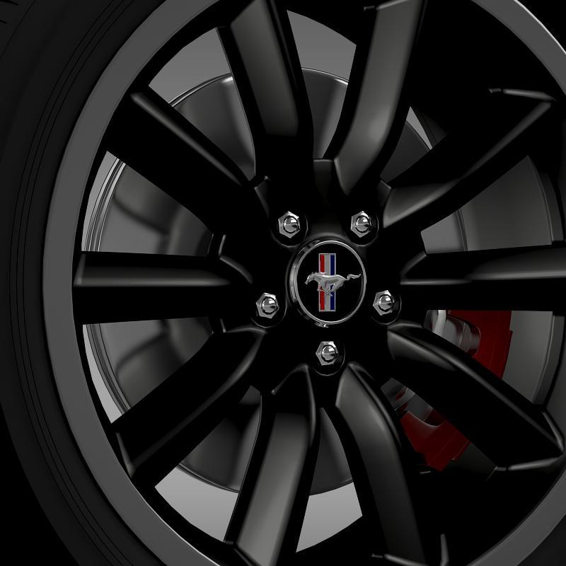 ford mustang boss 302 2012 wheel 3d model 3ds max fbx c4d lwo ma mb hrc xsi obj 138279
