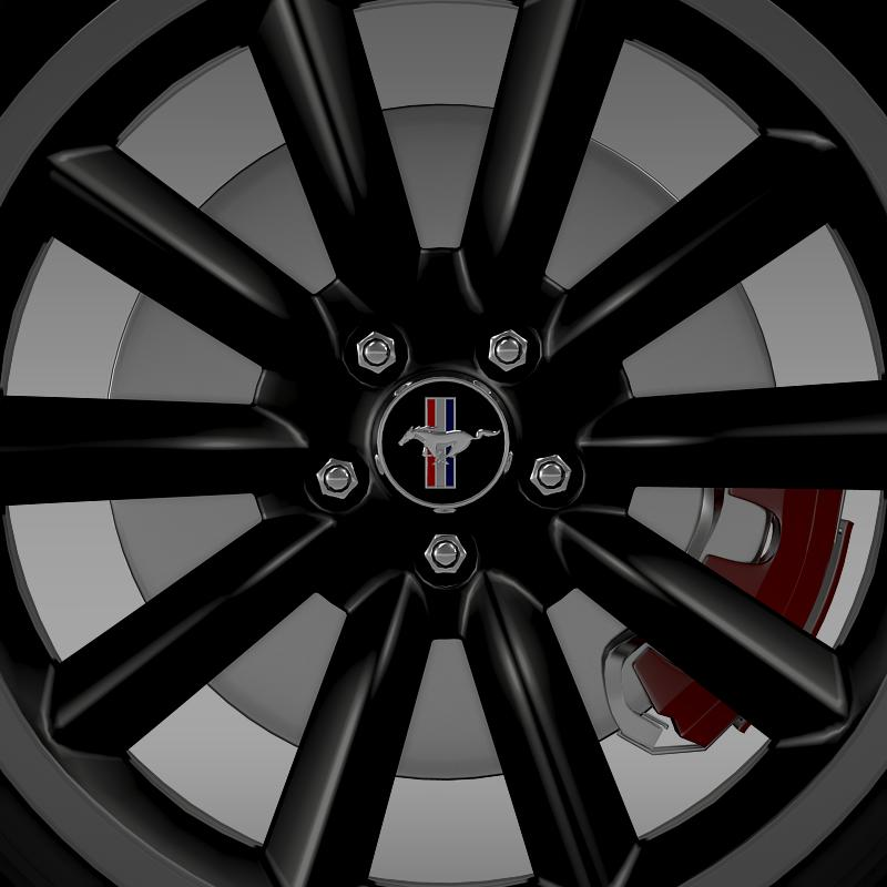 ford mustang boss 302 2012 wheel 3d model 3ds max fbx c4d lwo ma mb hrc xsi obj 138281