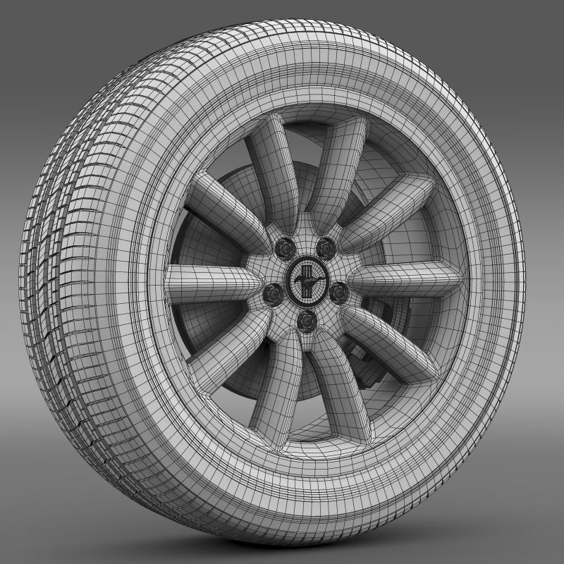 ford mustang boss 302 2012 wheel 3d model 3ds max fbx c4d lwo ma mb hrc xsi obj 138288