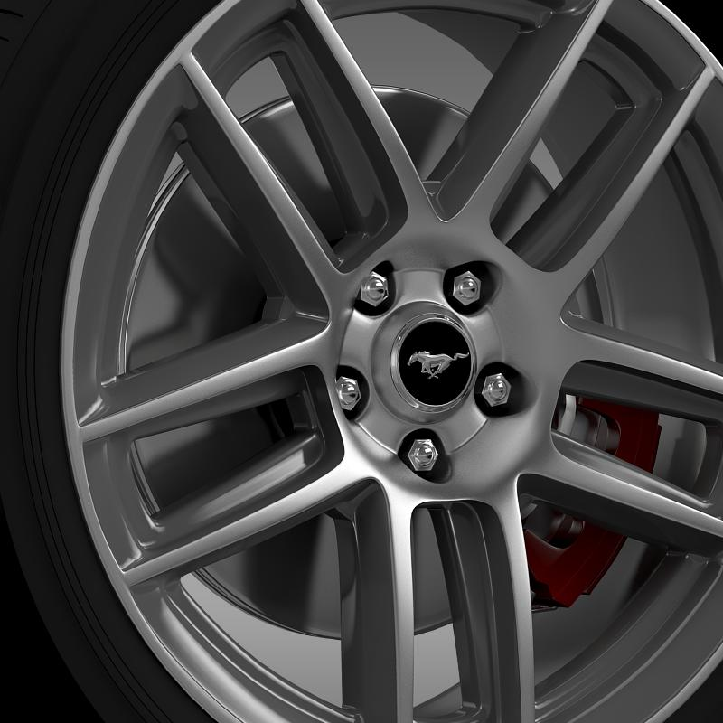 ford mustang boss 302 2013 wheel 3d model max fbx c4d lwo ma mb 139587