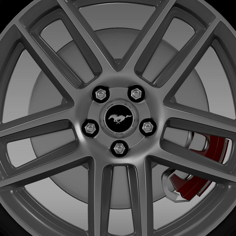 ford mustang boss 302 2013 wheel 3d model max fbx c4d lwo ma mb 139589