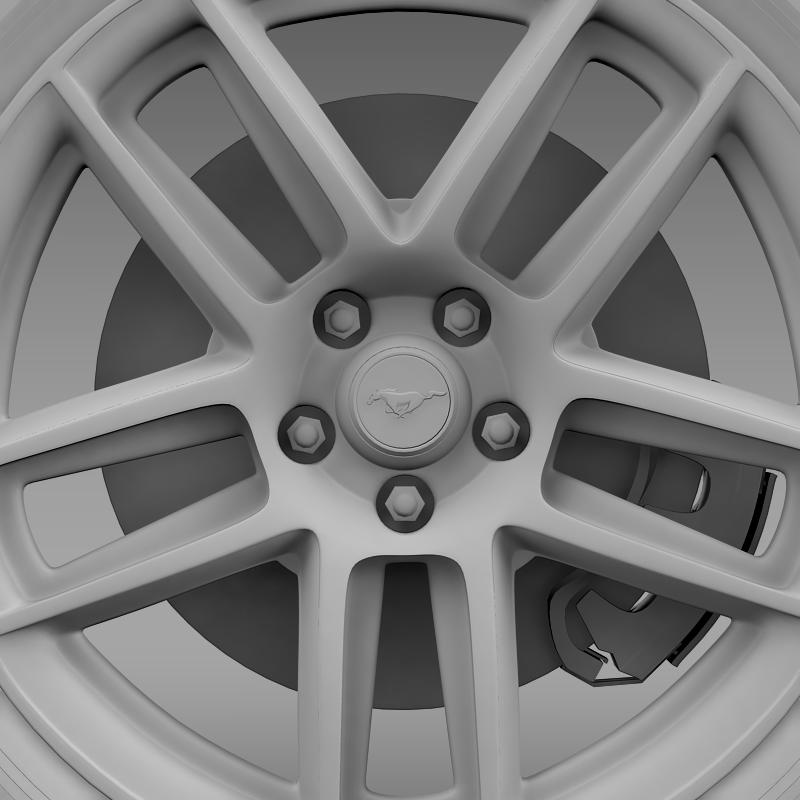 ford mustang boss 302 2013 wheel 3d model max fbx c4d lwo ma mb 139595