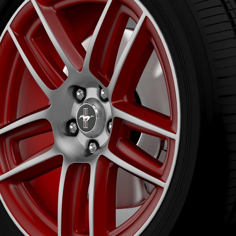 ford mustang boss 302 laguna seca 2012 wheel 3d model 3ds max fbx c4d lwo ma mb hrc xsi obj 139601