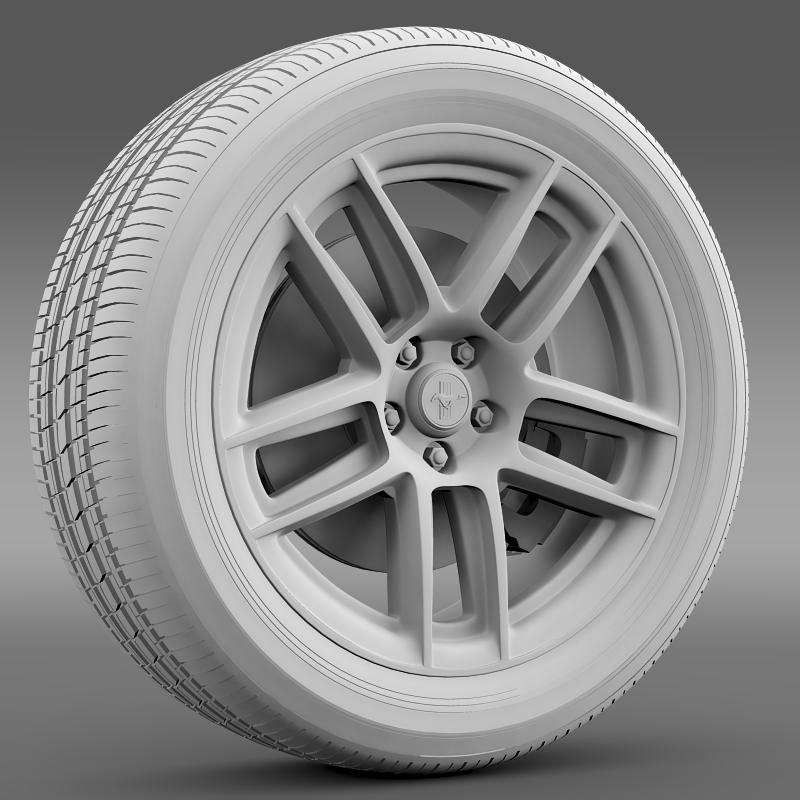 ford mustang boss 302 laguna seca 2012 wheel 3d model 3ds max fbx c4d lwo ma mb hrc xsi obj 139603