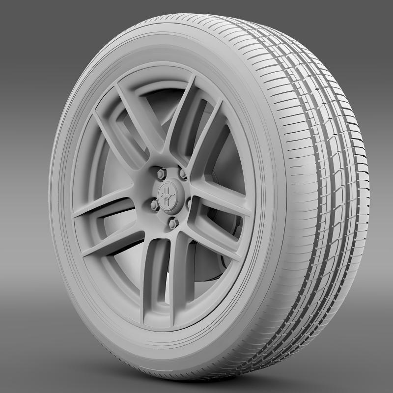 ford mustang boss 302 laguna seca 2012 wheel 3d model 3ds max fbx c4d lwo ma mb hrc xsi obj 139604