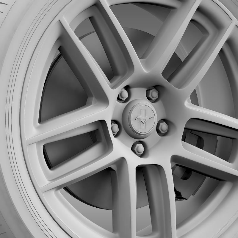 ford mustang boss 302 laguna seca 2012 wheel 3d model 3ds max fbx c4d lwo ma mb hrc xsi obj 139606