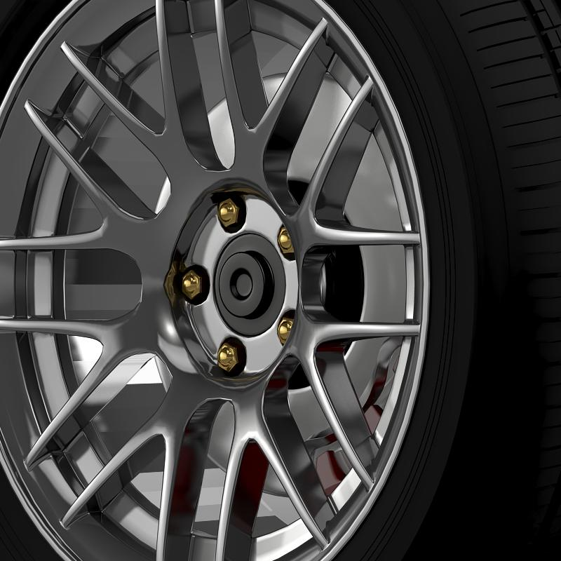 ford mustang boss 302r 2011 wheel 3d model 3ds max fbx c4d lwo ma mb hrc xsi obj 139614