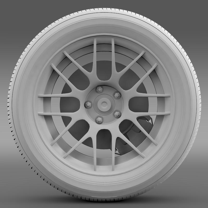 ford mustang boss 302r 2011 wheel 3d model 3ds max fbx c4d lwo ma mb hrc xsi obj 139618