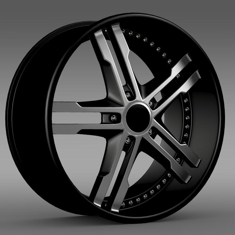 ford mustang dub edition 2011 rim 3d model 3ds max fbx c4d lwo ma mb hrc xsi obj 140053
