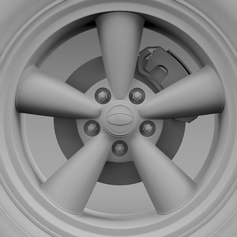ford mustang gt 2006 wheel 3d model 3ds max fbx c4d lwo ma mb hrc xsi obj 139647