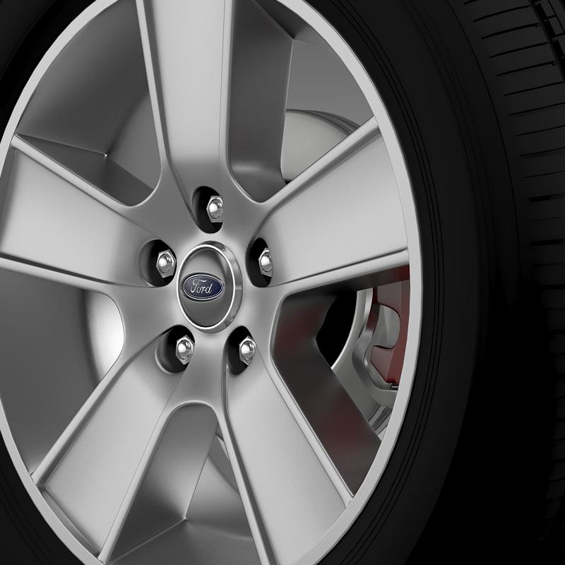 ford mustang gt convertible 2005 wheel 3d model 3ds max fbx c4d lwo ma mb hrc xsi obj 139665