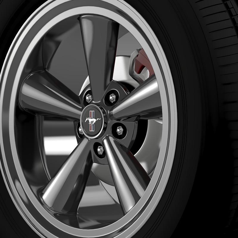 ford mustang gt cs 2007 wheel 3d model 3ds max fbx c4d lwo ma mb hrc xsi obj 139678