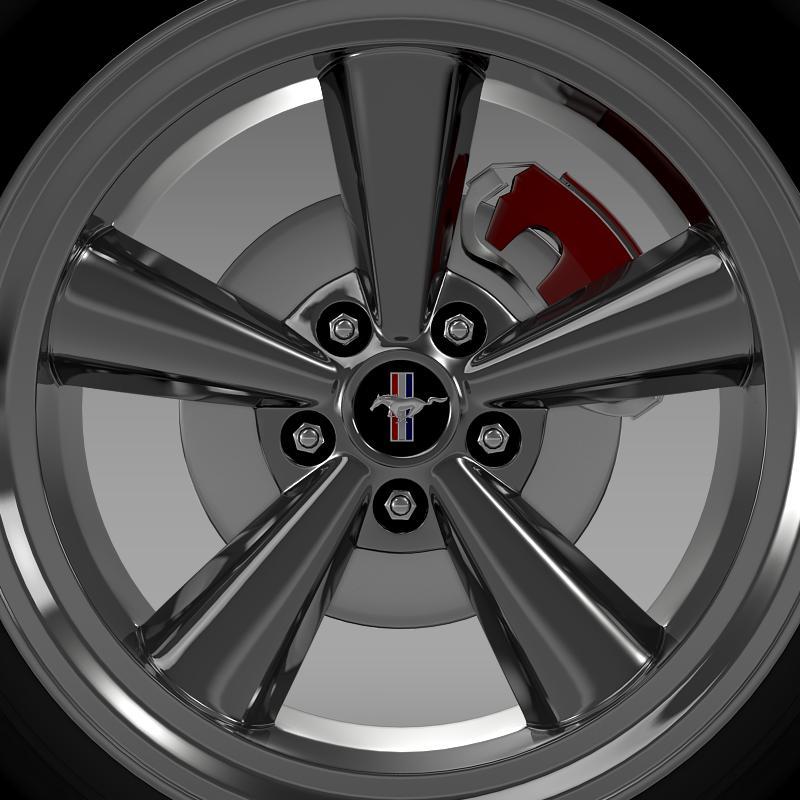 ford mustang gt cs 2007 wheel 3d model 3ds max fbx c4d lwo ma mb hrc xsi obj 139679