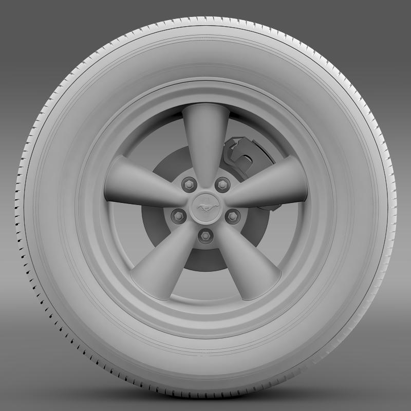 ford mustang gt cs 2007 wheel 3d model 3ds max fbx c4d lwo ma mb hrc xsi obj 139682