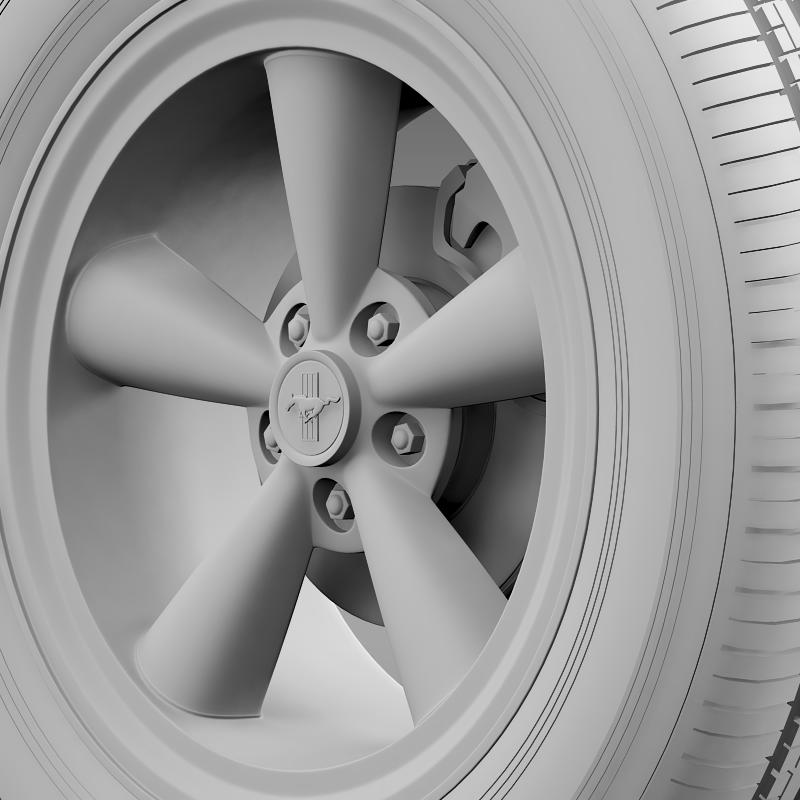 ford mustang gt cs 2007 wheel 3d model 3ds max fbx c4d lwo ma mb hrc xsi obj 139684