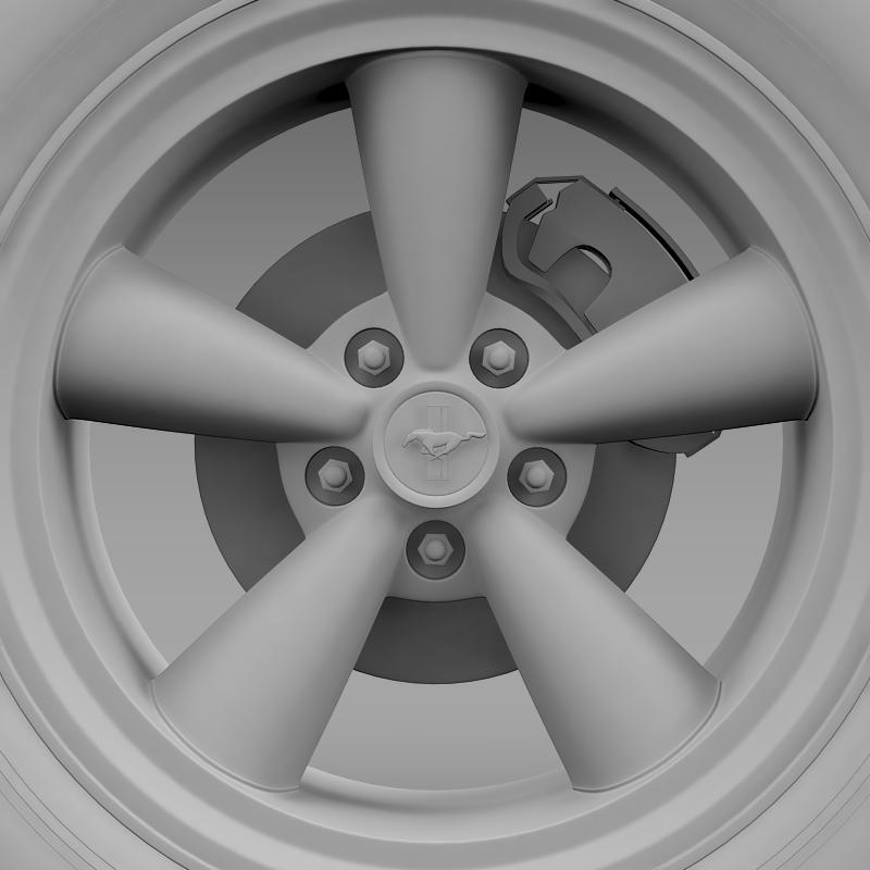ford mustang gt cs 2007 wheel 3d model 3ds max fbx c4d lwo ma mb hrc xsi obj 139685