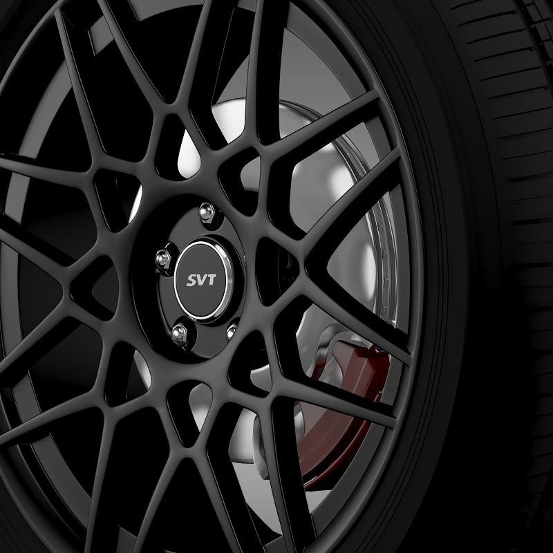 ford mustang shelby gt500 2013 wheel 3d model 3ds max fbx c4d lwo ma mb hrc xsi obj 139691