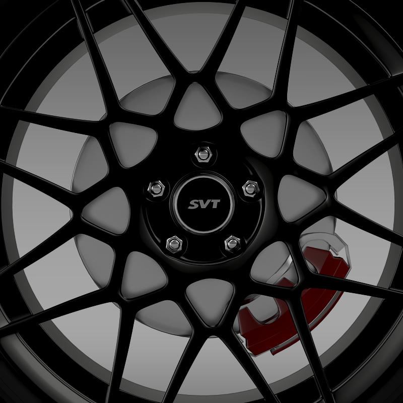 ford mustang shelby gt500 2013 wheel 3d model 3ds max fbx c4d lwo ma mb hrc xsi obj 139692