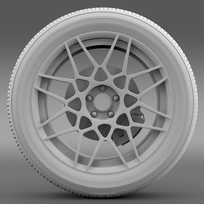 ford mustang shelby gt500 2013 wheel 3d model 3ds max fbx c4d lwo ma mb hrc xsi obj 139695