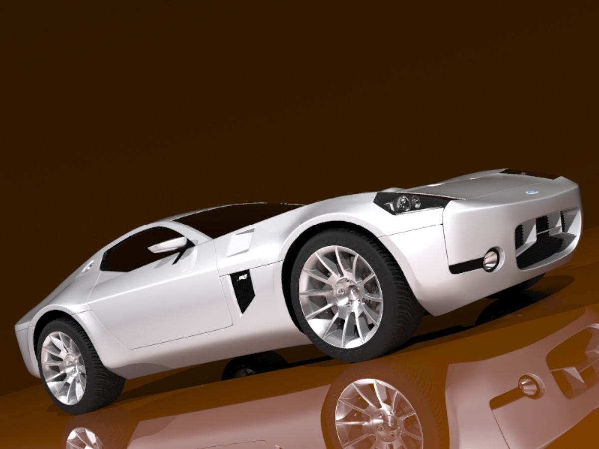 Ford shelby gr-1 3d líkan 3ds max 128866