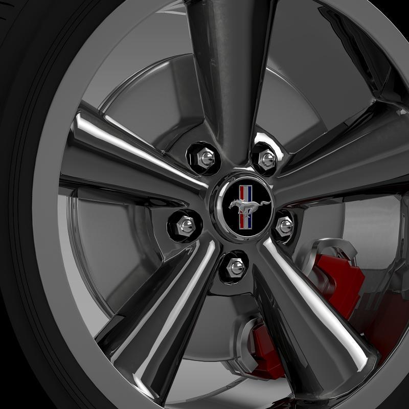 ford_mustang bullit 2008 wheel 3d model 3ds max fbx c4d lwo ma mb hrc xsi obj 139716