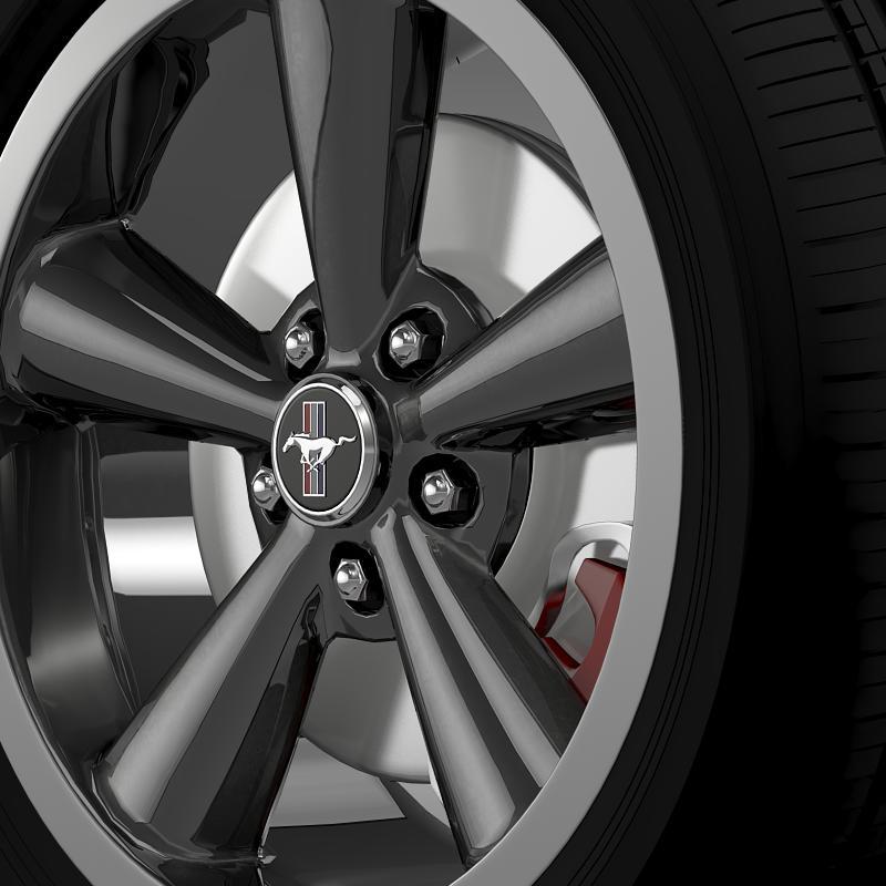 ford_mustang bullit 2008 wheel 3d model 3ds max fbx c4d lwo ma mb hrc xsi obj 139717