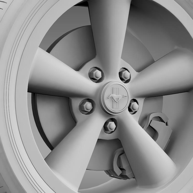 ford_mustang bullit 2008 wheel 3d model 3ds max fbx c4d lwo ma mb hrc xsi obj 139722