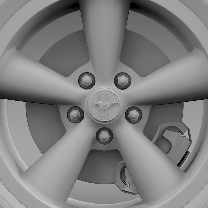 ford_mustang bullit 2008 wheel 3d model 3ds max fbx c4d lwo ma mb hrc xsi obj 139724