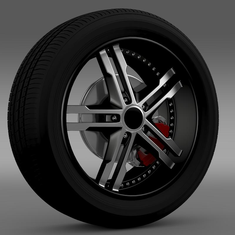 ford_mustang dub edition 2011 wheel 3d model 3ds max fbx c4d lwo ma mb hrc xsi obj 139806