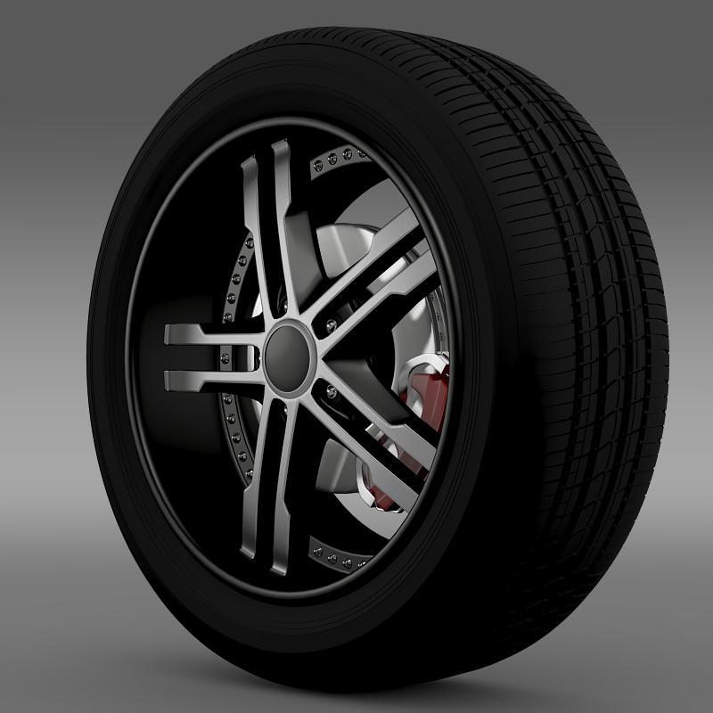 ford_mustang dub edition 2011 wheel 3d model 3ds max fbx c4d lwo ma mb hrc xsi obj 139807