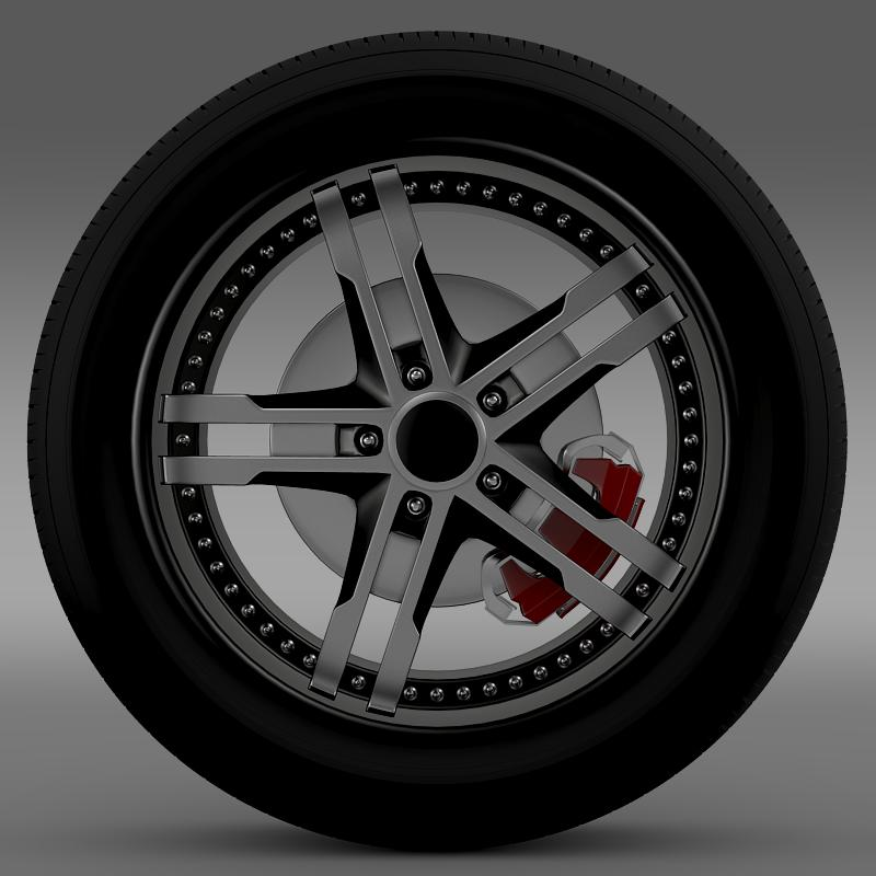 ford_mustang dub edition 2011 wheel 3d model 3ds max fbx c4d lwo ma mb hrc xsi obj 139808