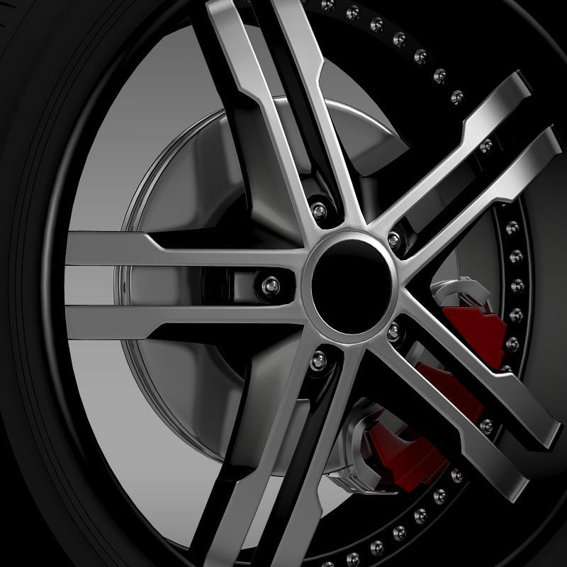 ford_mustang dub edition 2011 wheel 3d model 3ds max fbx c4d lwo ma mb hrc xsi obj 139809