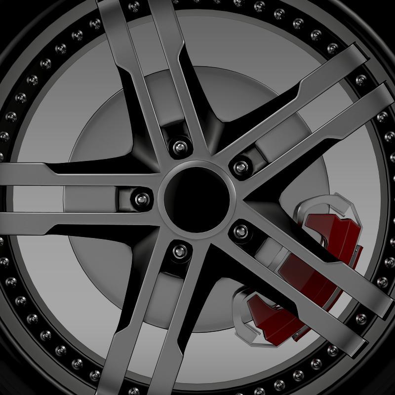 ford_mustang dub edition 2011 wheel 3d model 3ds max fbx c4d lwo ma mb hrc xsi obj 139811