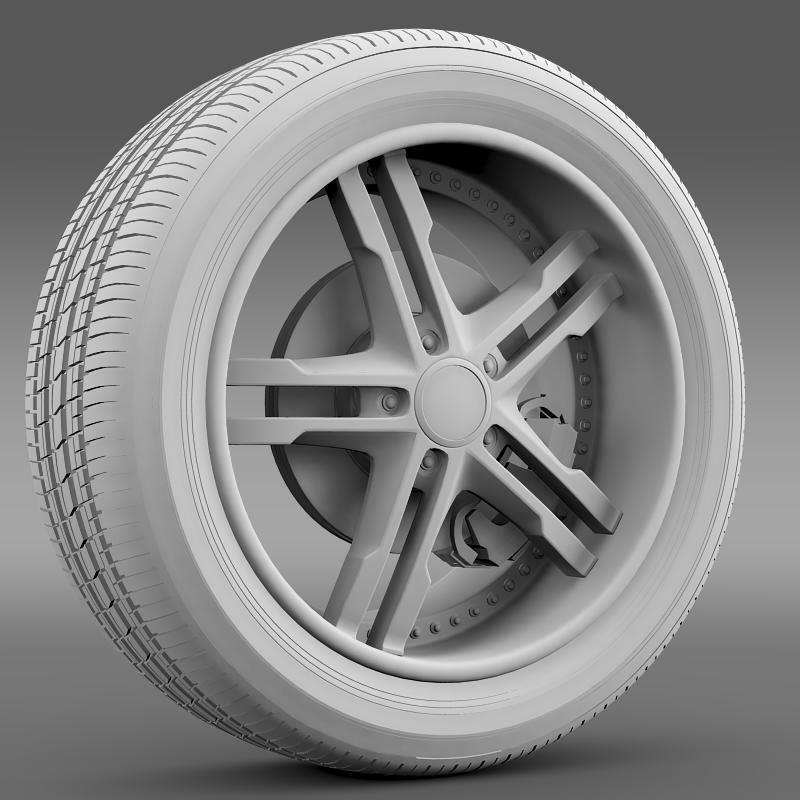 ford_mustang dub edition 2011 wheel 3d model 3ds max fbx c4d lwo ma mb hrc xsi obj 139812