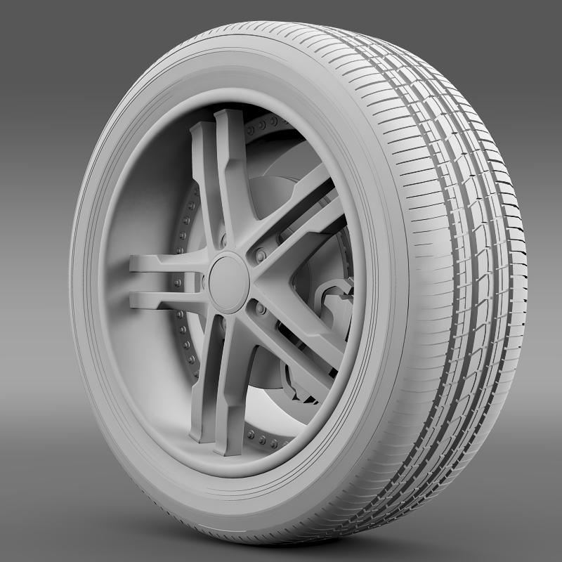 ford_mustang dub edition 2011 wheel 3d model 3ds max fbx c4d lwo ma mb hrc xsi obj 139813