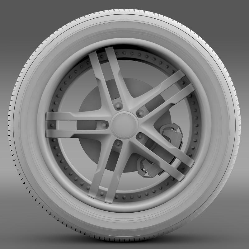 ford_mustang dub edition 2011 wheel 3d model 3ds max fbx c4d lwo ma mb hrc xsi obj 139814