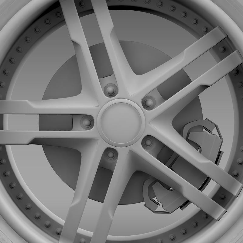ford_mustang dub edition 2011 wheel 3d model 3ds max fbx c4d lwo ma mb hrc xsi obj 139817