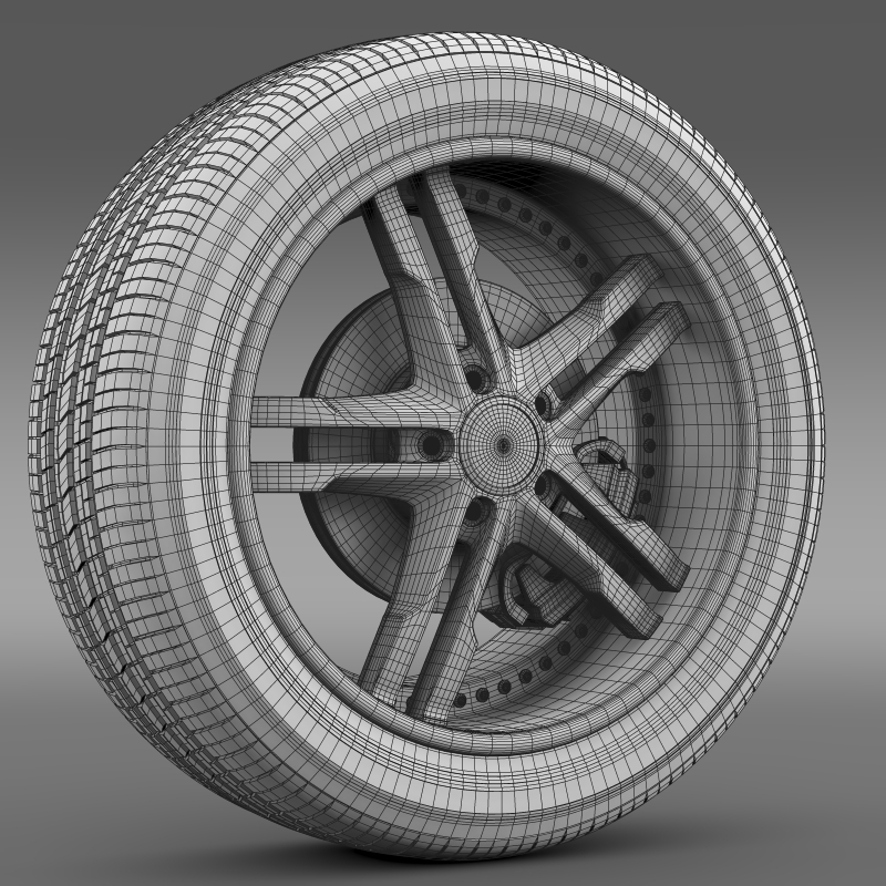 ford_mustang dub edition 2011 wheel 3d model 3ds max fbx c4d lwo ma mb hrc xsi obj 139818