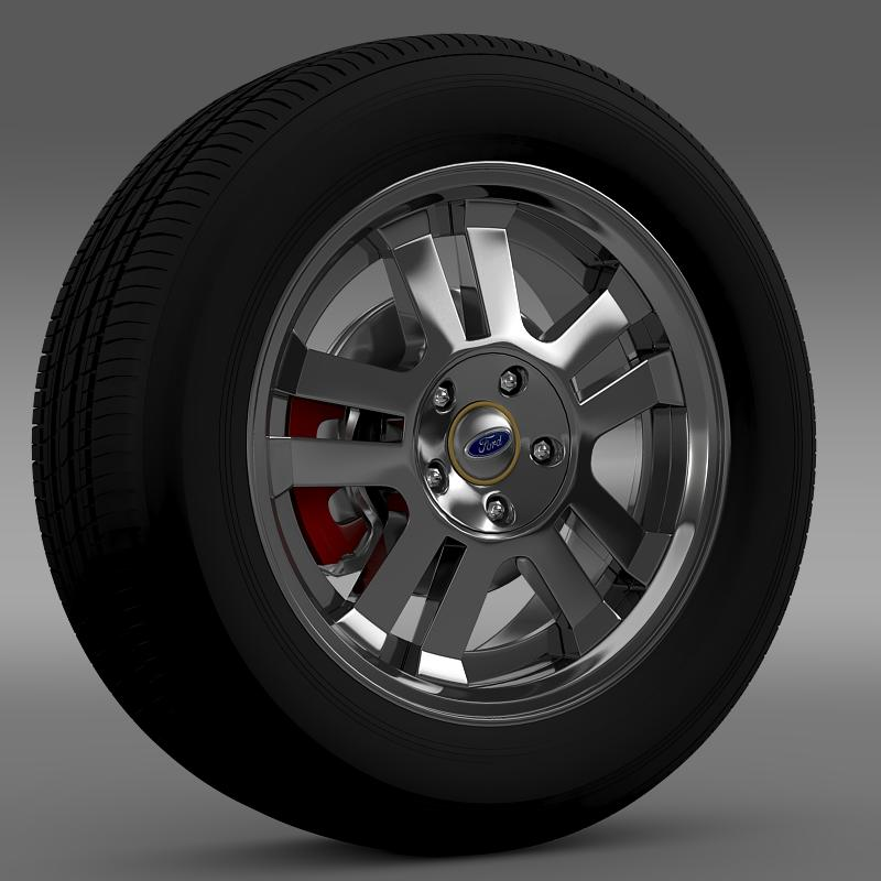 ford_mustang gt 2005 wheel 3d model 3ds max fbx c4d lwo ma mb hrc xsi obj 139832