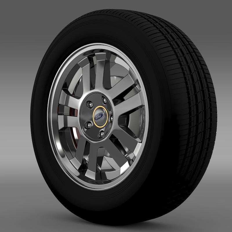 ford_mustang gt 2005 wheel 3d model 3ds max fbx c4d lwo ma mb hrc xsi obj 139833