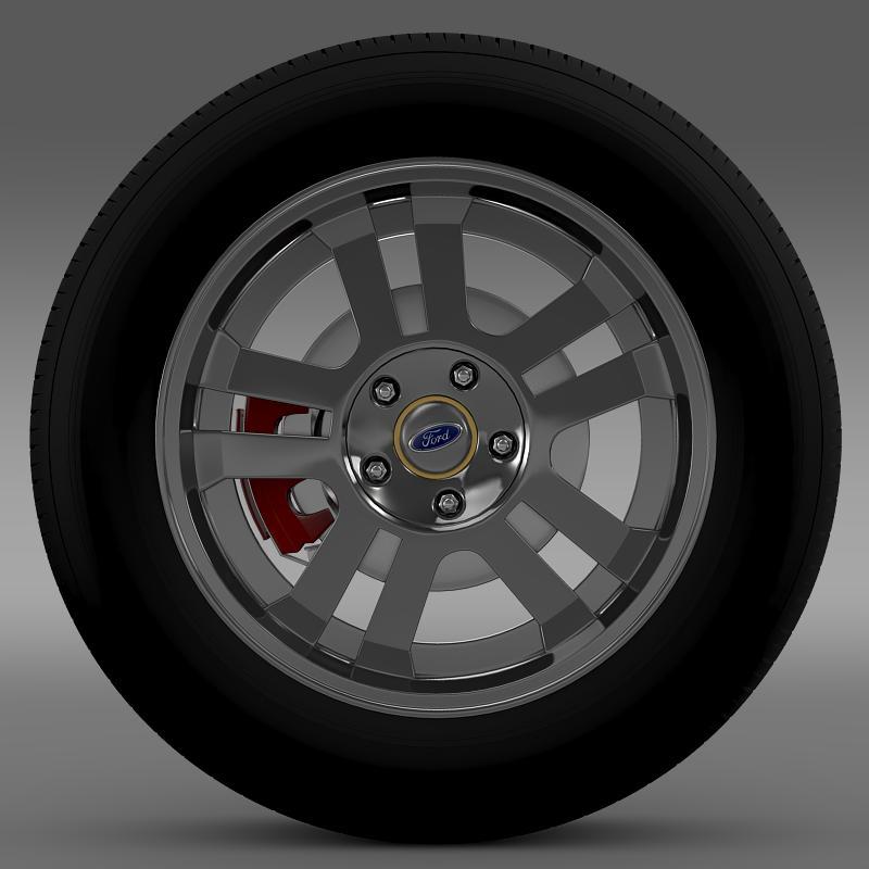 ford_mustang gt 2005 wheel 3d model 3ds max fbx c4d lwo ma mb hrc xsi obj 139834